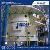 De Installatie van de Raffinaderij van de Palmolie van de Machine van de Raffinage van de palmolie gebruikte de Machine van de Raffinage van de Eetbare Olie