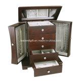 Современная деревянная коробка ювелирных изделий