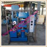 A Estação dupla 25ton Lab Xlb350X350X2 Vulcanizer de borracha da placa pressione