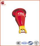 Extintor de incêndio fino super do pó
