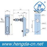 Yh9611 Padlockable puxador de abertura e fechamento do gabinete eletrônico Plane Lock lock fechadura industriais