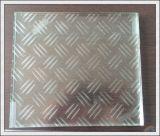 1219mm Duidelijk/Gekleurd/Berijpt Gehard Antislip Glas