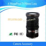 Obiettivo di Megapixel 5-50mm degli accessori 6 della macchina fotografica di Dahua (PFL0550-E6D)