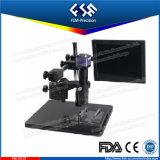 FM45-list7s, écran LCD avec objectif zoom microscope vidéo avec caméra HD 1080p