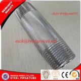 ASTM A733 TNP BSP Electro de acero al carbono boquilla de tubo galvanizado