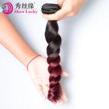 Het uitstekende Losse Haar Ombre 100% van het Haar van de Golf Lange Onverwerkte de Maagdelijke Chinese Weefsels van het Haar