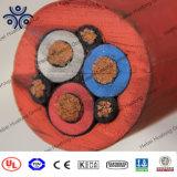 Produtos quentes 3.6/6Subterrâneo kv cabo de alimentação de Mineração 4*185mm2