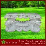 庭のヤードMt1705のための白い花こう岩の石表
