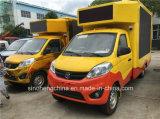 Foton Jiatu 4X2 P8 a conduit un camion, a conduit à la publicité, de petits camions chariot mobile