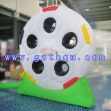 Aufblasbarer Fußball schießt vorbildlicher/im Freiensport-aufblasbaren Eintragfaden-Pfeil
