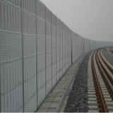 Высокоскоростной магистрали звук шума барьер на стену