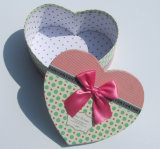 ボックスを包む愛情のある中心の形のおもちゃ