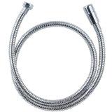 Doppio tubo flessibile di acquazzone flessibile Locked di estensione del Brown