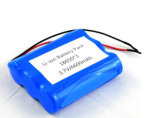 3,7 V 6600mAh 18650 bloc-batterie, batterie lithium-ion