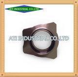La precisión de mecanizado CNC de aluminio personalizado parte cubierta de motor de molde de moldeado a presión