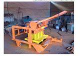 Bewegliche Form-Schwingung-konkrete hohle Block-Maschine der ISO-Bescheinigung-Qm4-45 mit Dieselmotor-Energie