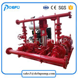 미끄럼 Mounted Engine - Diesel 몬 Fire Pump UL Listed