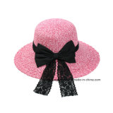 Новое Fashion Bowknot Felt Fedora Hat для Women