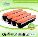 Impresora láser remanufacturados cartucho CE740A CE741A CE742A CE743A tóner de color para HP