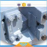 Il tondo per cemento armato del macchinario di costruzione tosa il manuale della taglierina del tondo per cemento armato