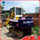 6ton / -5.5kw / H utiliza Japón Komatsu PC60 orugas / excavadora hidráulica con Isuzu-Motor