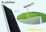 O lote de estacionamento superior do diodo emissor de luz do painel de Sunpower ilumina lâmpadas de deteção espertas