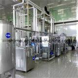 Produto da bebida do leite ácido que processa fazendo a máquina Machinry da planta