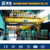 Электрический перемещая металлургический надземный кран с SGS