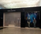 Le polycarbonate transparent enroulent l'obturateur pour le magasin commercial/Shopfront/magasin
