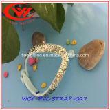 Cinghia materiale del PVC di buona qualità con i pistoni