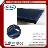 Panneau acoustique de plafond de découpage de laine de verre