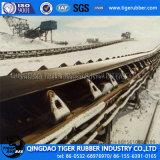 Banda transportadora de goma de nylon resistente fría de los sistemas del frotamiento
