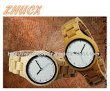 Horloge van het Metaal van het Horloge van de hoogste-kwaliteit het Houten CX-Ww02
