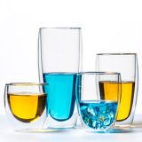 인쇄했거나 착색된 유리제 물 컵, 찻잔, 유리 그릇, 단지 (JINBO.)