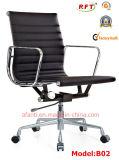 現代Eamesのオフィスのアルミニウム革ホテルのアルミニウム訪問者の椅子(E02)