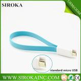 Câble de caractéristiques de V8 USB d'aimants de taille de Cosotmized pour le câble de caractéristiques micro d'aimant de la galaxie USB V8 de Samsung