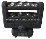 8 * 10W 4-em-1 RGBW CREE LED Spider Beam Moving Head