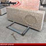 Comptoir en granit préfabriqué en granit pour cuisine et vanité