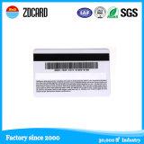 Plástico de PVC de preimpresión tarjeta magnética por tarjetas de regalo