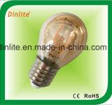 G45-2W-4W- ampola dourada do diodo emissor de luz