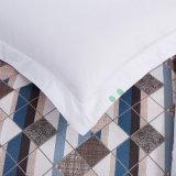 Assestamento dell'hotel stampato cotone con il lenzuolo ed il coperchio del Duvet