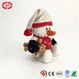 Bonhomme de neige Hug Brown Bear Cute Christmas Christmas Peluche Holiday Toy
