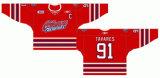 Liga de Hóquei de Ontário personalizados Oshawa Generais 2007-2010 Home/Estrada Hóquei no Gelo Jersey