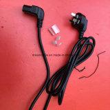Cable eléctrico chino del CCC 3pin con 6 enchufes del IEC C13
