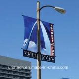 Recto verso de la rue de métal Pole Affiche publicitaire Stand (BS09)