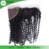 Frontal umano brasiliano del merletto dei capelli del Virgin del fornitore di Guangzhou (8 ''--22 '')