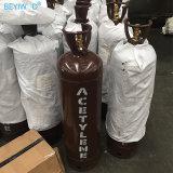 Fatto in cilindro d'acciaio dell'acetilene della saldatura di pressione bassa della Cina 40L