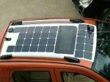 100W painel solar flexível para carros de golfe