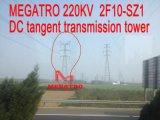 Torretta della trasmissione di tangente di CC di Megatro 220kv 2f10-Sz1