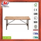 Commission mixte de doigt de bois pour matériel de panneaux muraux banc de travail